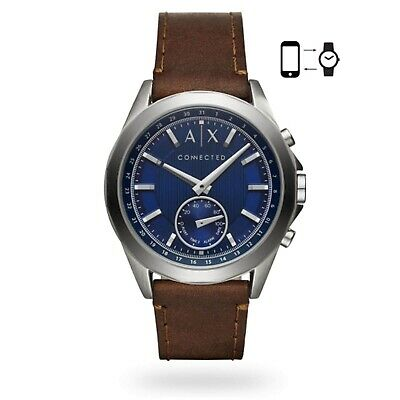 Armani Exchange Connected Mens Dress Hybrid Smartwatch AXT1010 RRP £179