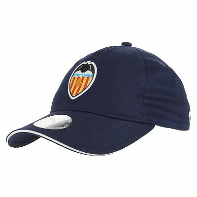 Puma Official Mens Valencia CF Football Fans Training Cap Hat Dark Blue