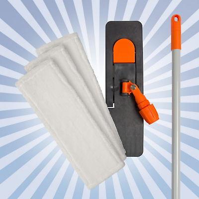 FREGONA 50cm Set de 5 EN 1 Microfibras/Soporte Plegable/Soporte la Vara