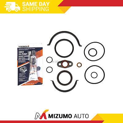 Timing Cover Gasket Fit 95-13 Infiniti Nissan DOHC VQ30DE VQ35DE -