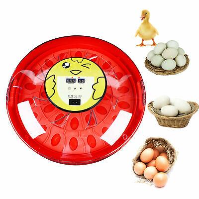 Digital 30egg Incubator Poultry Bird Pet Hatcher Clear Temperature Control Usa