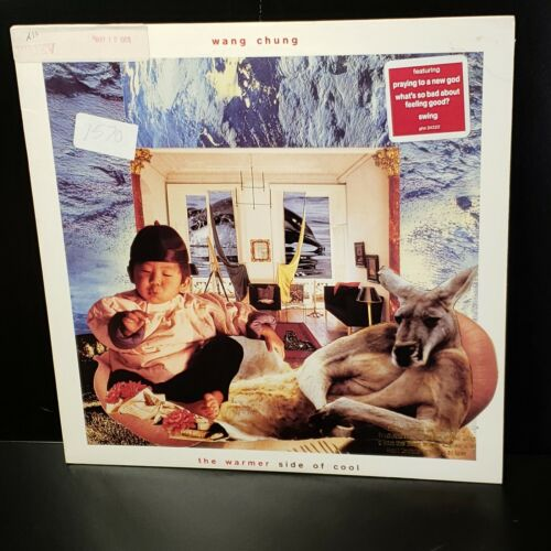 Wang Chung The Warmer Side Of Cool Geffen Records Synth Pop Album LP 1989 VG++