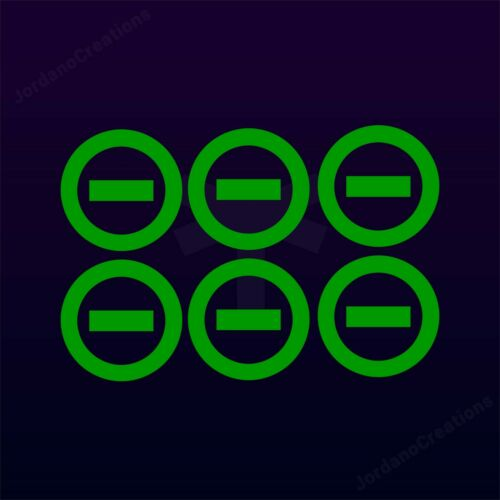TON 6 VINYL DECAL TYPE O NEGATIVE  STICKER 666 DEATH METAL Peter Steele GEARS SS