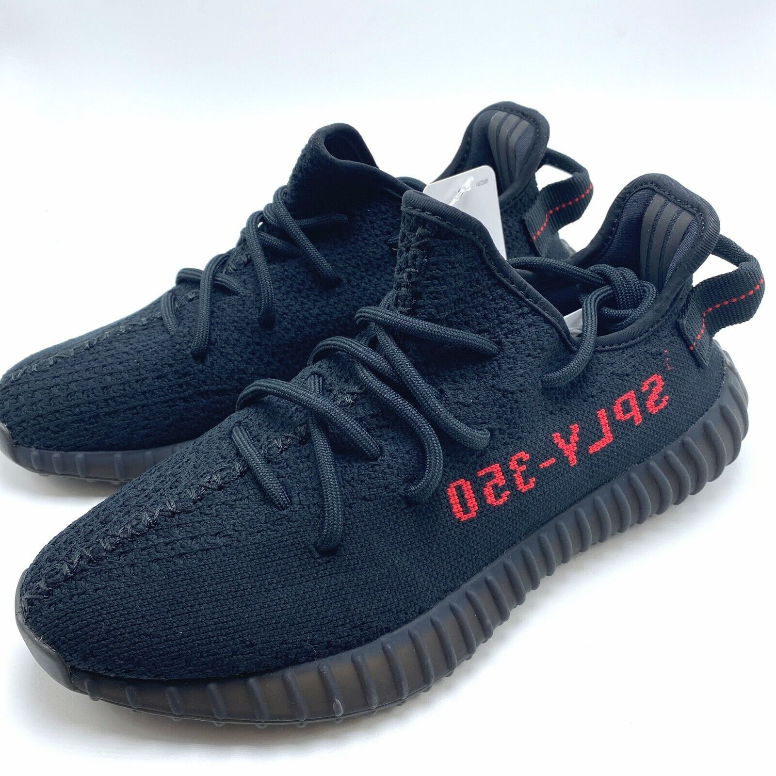 yeezy sply 350 black and red