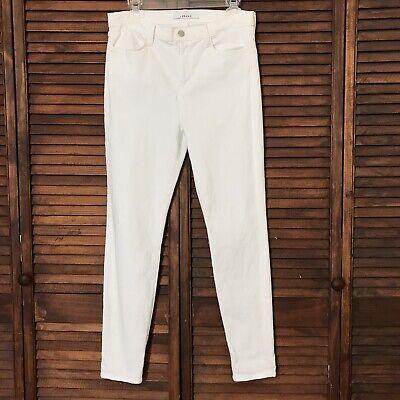 J Brand white jeans size 31 Maria skinny High rise