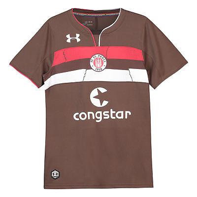 Offiziell St Pauli Heim Shirt Fußball Trikot Oberteil 201819 Kinder Under Armour