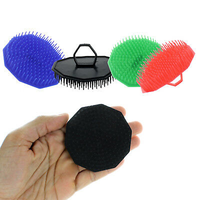 3 Pack Scalp Massage Hair Brush Comb Shampoo Massager Shower Wash Care Therapy -