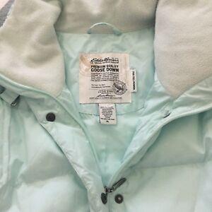 Ladies Eddie Bauer Goose Down Vest & accessories