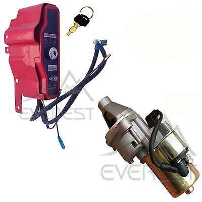 Ignition Switch Box With Keys & Starter Motor W/ Solenoid...