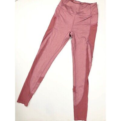 Gymshark Women's Pink Mesh Away with Leggings Activewear Size XS