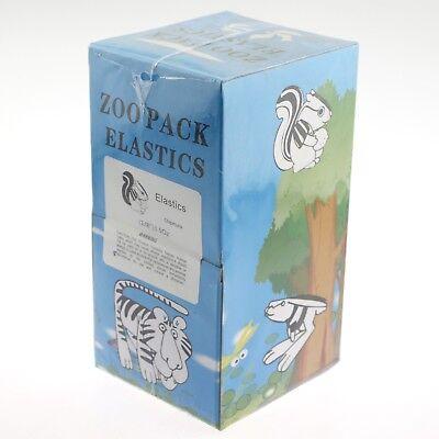 5000 Pcs Dental Orthodontic Zoo Pack Elastics Latex O Ring Rubber Bands