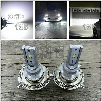 H4 9003 HB2 CSP LED Headlights Bulb Kit High Low Beam 6000K White Plug And Play ()