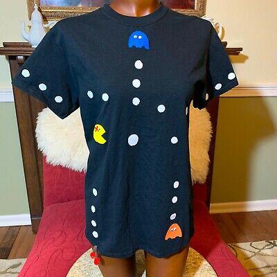 PacMan Hand-Made Girl T-Shirt - Size M - Cute!