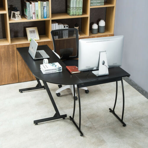 Wood Computer Desk Study Table PC Laptop Workstation Home Office Furniture Gifts