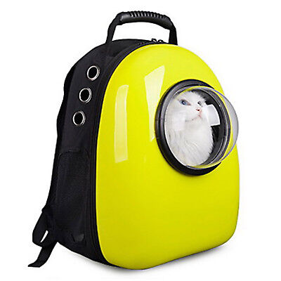 Dog Cat New Backpack Pet Carrier Astronaut Capsule Breathable Travel Bag USA