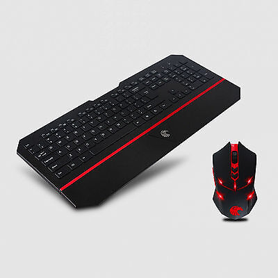 E780 2.4G Wireless Multimedia Gaming Keyboard and Mouse Combo Set for PC Laptop