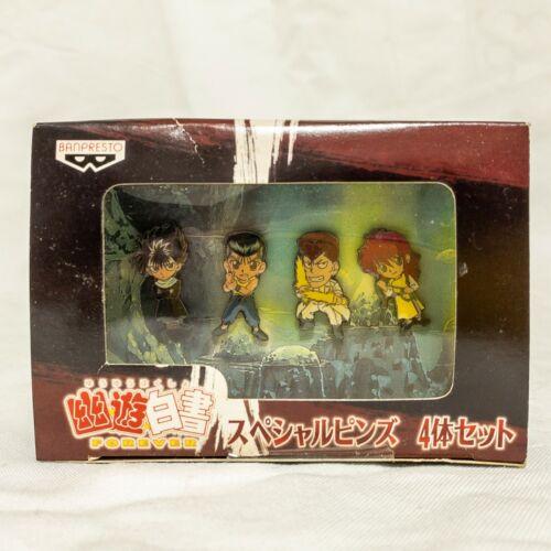Yu Yu Hakusho FOREVER Special Pins Yoshihiro Togashi Banpresto Brand-new Japan