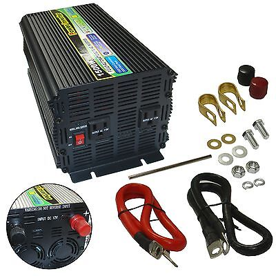 12v Ac-mobile (1500/3000W Watt 12V DC to AC Mobile Power Inverter New )