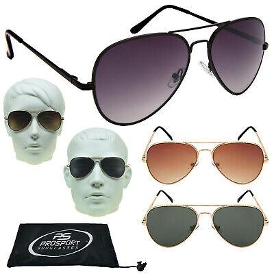 Gradient Linse Mode Aviator Designer Sonnenbrille Grau Braune Grüne Linse Gold