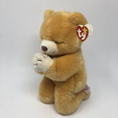 Ty Beanie Buddy 1999 Hope the Praying Bear 10