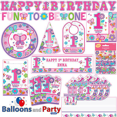 Saints Party (Sweet Birthday Girl 1st Birthday Party Tableware Decorations)