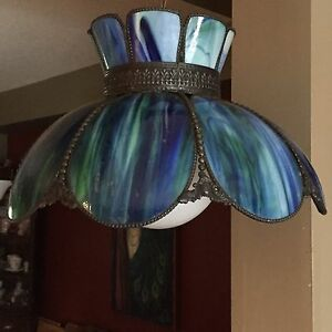 Tiffany style ceiling light