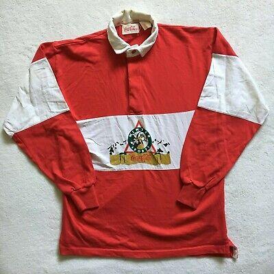 "Musto Ladies Polo Shirt Top Red Stripes Medium 12 Chest 36/"" VGC"