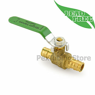 12 Propex Expansion Lead-free Brass Ball Valve For Pex-a F1960 Full Port