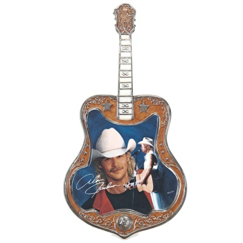Alan Jackson Someday Guitar Plate Bradford Exchange Vtg Country Music