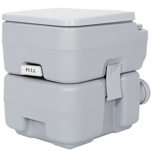 5.3 Gallon Portable Travel Toilet Designed for Camping RV Boating Outdoor Indoor Camping & Hiking
