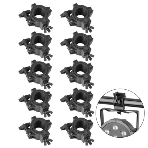 10 Pack 33lb Stage Light Clamps O Clamp Fit Dia. 25mm 36mm 48mm for DJ Lighting
