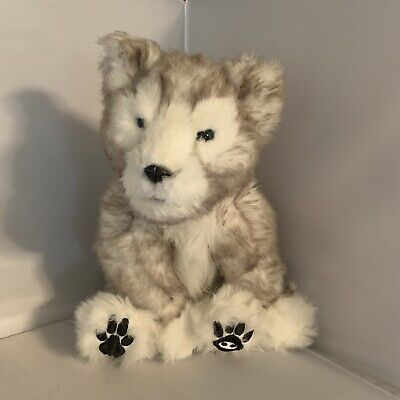 WowWee Alive Siberian Husky Pup Interactive Electronic Plush Toy Wolf Dog 200