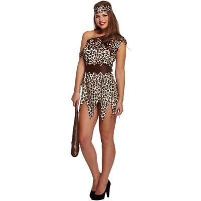 Adult Cave  Woman Unisex Fancy Dress Outfit/Costume/Halloween Hen/Stag Party