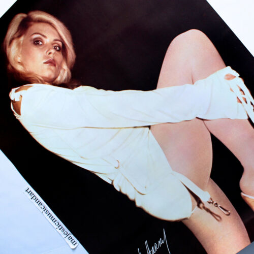 SEXY ORIGINAL 1979 BLONDIE DEBBIE HARRY POSTER VERY RARE