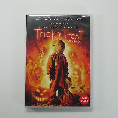 Trick 'r Treat DVD [Korea Edition,1Disc] The best Halloween film of the last 30'](Halloween Korea)