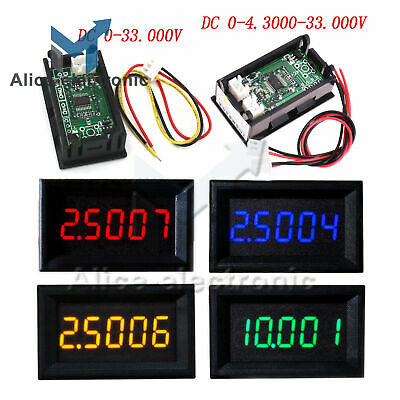 0.365digit Dc0-33.000v0-4.3000-33.000v Precision Digital Voltmeter Panel Meter