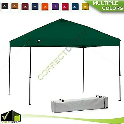 Tailgate Gazebo - 10'x10' Instant CANOPY Gazebo POP UP TENT Outdoor Tailgate Sun Shelter BBQ Party