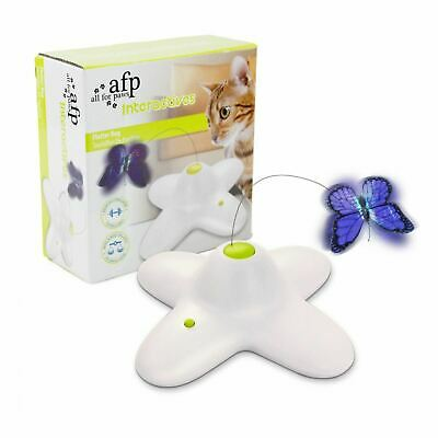 Flutter Activity Toy - All For Paws AFP Cat Kitten Interactive FLUTTER BUG Toy Catch Game Activity Play