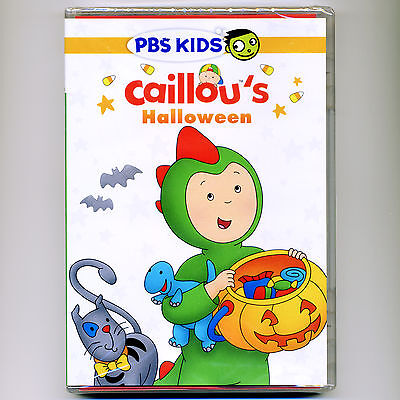 Caillou's Halloween, new children's educational PBS DVD 100 minutes, 13 - Children's Halloween Story