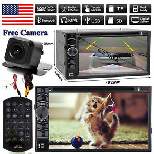 For 05-11 Toyota Tacoma Touchscreen BT USB CD DVD Car Radio Stereo W Rear Camera