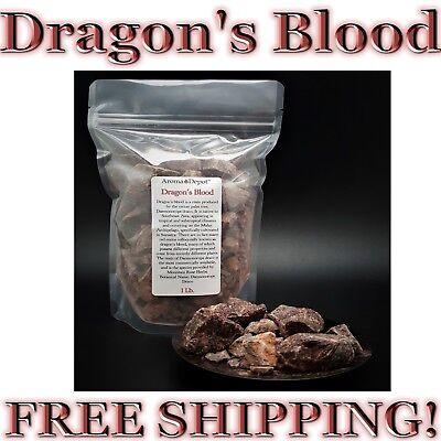 1Lb Dragons Blood Ganular Incense 100  Pure Natural Daemonorops Purification