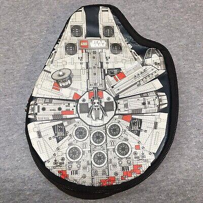 Lego Star Wars Zip Bin Storage Case Millennium Falcon MiniFigures Storage
