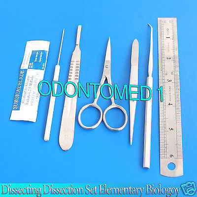 Dissecting Dissection Set Elementary Biology Student Lab Teachers Choice Ds-710