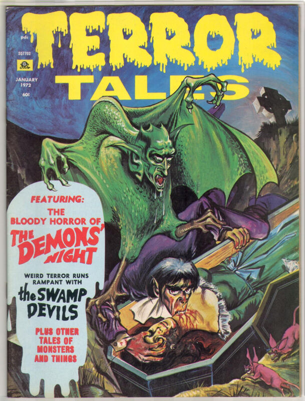 1972 TERROR TALES VOL 4 # 1 7.0 SUPER NICE BOOK