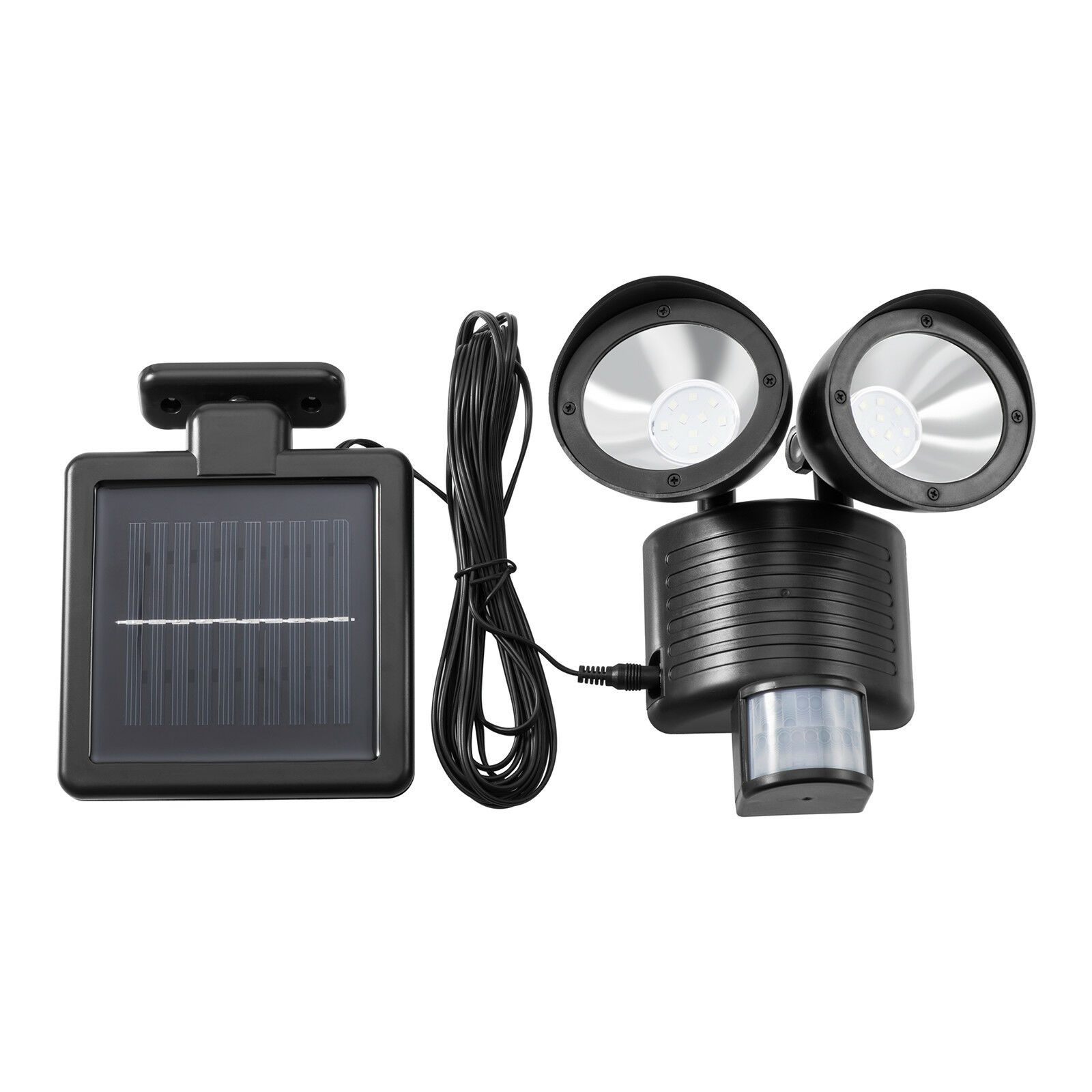 Details About Outdoor 22 Led Floodlight Dual Security Detector Solar Spot Light Motion Sensor