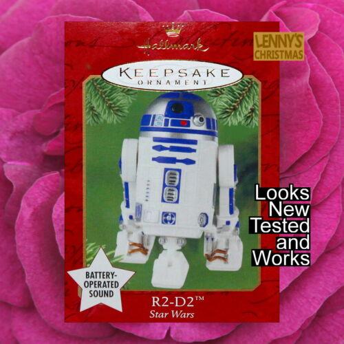 Hallmark Ornament, 2001 R2-D2, Star Wars, Looks New