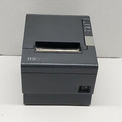 Epson Micros Tm-t88iv Point Of Sale Thermal Printer Model M129h