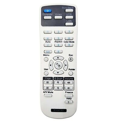 1599176 Remote Controller for Epson PowerLite S17 S27 W17 W29 X17 X21 X27 X29 segunda mano  Embacar hacia Mexico