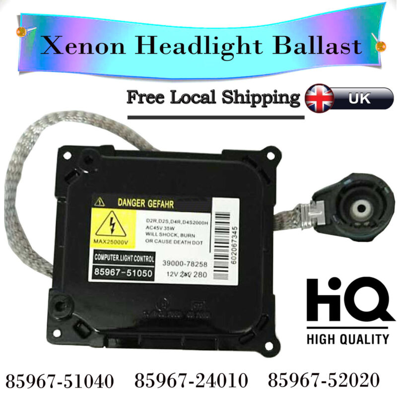 Xenon HID Headlight Ballast ECU Control Unit for Toyota Lexus 85967-51040 35W UK