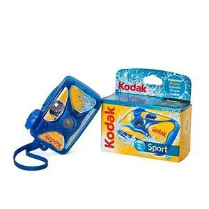 2x-Kodak-Deportes-Einwegkamera-resistente-al-agua-a-prueba-de-Camara-subacuatica